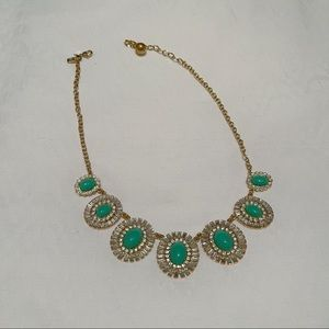 Kate Spade Teal Statement Necklace